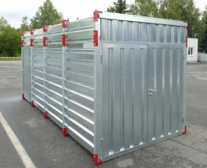 Container height 2600 mm