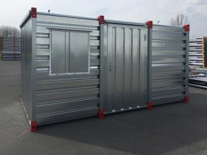 Container side door single